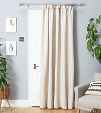 Argos Home Thermal Door Curtain - Cream