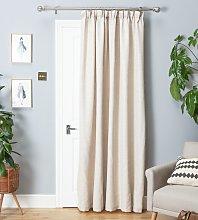 Argos Home Thermal Door Curtain - Cream