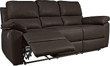 Argos Home Toby 3 Seat Faux Leather Recliner Sofa