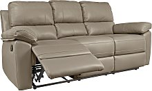Argos Home Toby 3 Seater Faux Leather Recliner