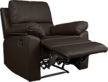 Argos Home Toby Faux Leather Manual Recline Chair