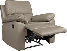 Argos Home Toby Faux Leather Manual Recliner Chair