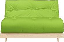 Argos Home Tosa 2 Seater Futon Sofa Bed - Green