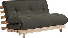 Argos Home Tosa 2 Seater Futon Sofa Bed - Grey