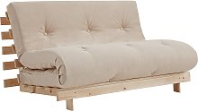Argos Home Tosa 2 Seater Futon Sofa Bed - Natural