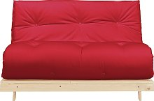 Argos Home Tosa 2 Seater Futon Sofa Bed - Red