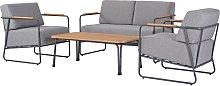Argos Home Trenton 4 Seater Sofa Set