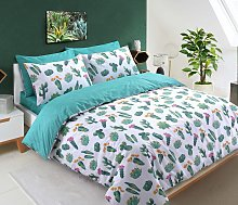 Argos Home Tropical Cactus Bedding Set - Kingsize