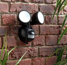 Argos Home Twin PIR Battery Operated Outdoor Wall Light