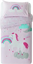 Argos Home Unicorn Bedding Set - Single