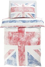 Argos Home Union Jack Bedding Set - Single