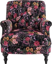 Argos Home Valerie Fabric Accent Chair - Floral