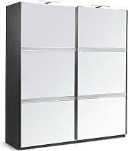 Argos Home Vegas 2 Door Mirror Sliding Wardrobe -
