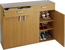 Argos Home Venetia Large 3 Door 2 Drawer Shoe