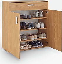 Argos Home Venetia Shoe Storage Cabinet - Oak