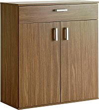 Argos Home Venetia Shoe Storage Cabinet - Walnut