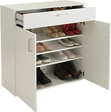Argos Home Venetia Shoe Storage Cabinet - White