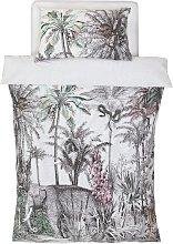 Argos Home Vintage Jungle Bedding Set - Single