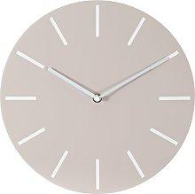 Argos Home Wall Clock - Cream