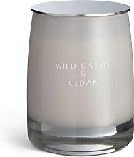 Argos Home Wild Cassis and Cedar Candle with Lid