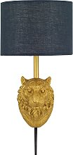 Argos Home Wilderness Tiger Plug In Wall Light -