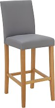 Argos Home Winslow Faux Leather Tall Bar Stool -