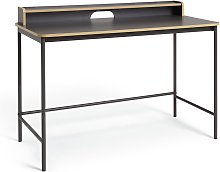 Argos Home Wood Edged Desk - Two Tone
