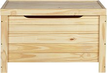 Argos Home Wooden Storage Box - Unfinished Pine