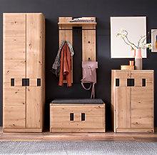 Argos Wooden Hallway Furniture Set In Planked Oak