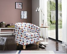 Aria Tub chair Marlow Home Co. Upholstery Colour: