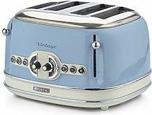 Ariete 0156/05 Retro Style 4 Toaster with 2 Slice
