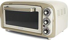 Ariete 979 03 Mini Oven Vintage Oven-979 Beige,