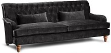 Ariha 3 Seater Chesterfield Sofa Rosalind Wheeler