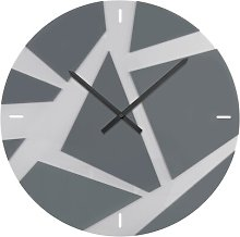 Arispe 60cm Wall Clock Metro Lane Colour: Light