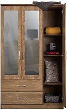 ARKFW Carlos Bedroom Furniture #Oak #3 Door Triple