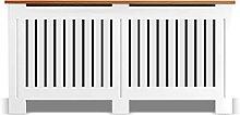 Arlington Radiator Cover White Modern Extra Large