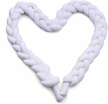 ARLT 3M/2M/1M Baby Crib Bumper Knotted bed Bumper