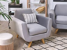 Armchair Slipcover Grey Velvet Replacement