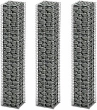 Armistead Galvanised Wire Gabion (0.3m x 1.5m) by