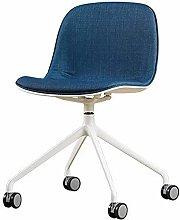 Armless 360° Swivel Ergonomic Desk Chair with