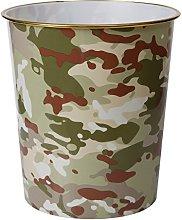 Army Multi Terrain Camouflage Waste Bin - Kids