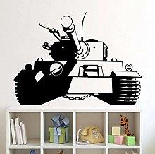 Army Tank Wall Decals Children's Room Vinyl