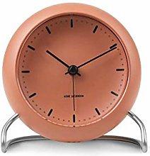 Arne Jacobsen Table Clock, Orange, 11 cm