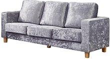 Arnold 3 Seater Sofa Rosdorf Park Upholstery: