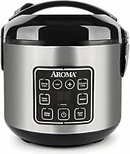 Aroma 8 Cup Stainless Steel Cool Touch Digital