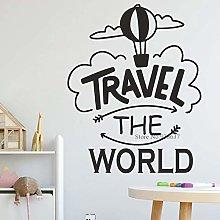 Around The World Offer Decal Sticker