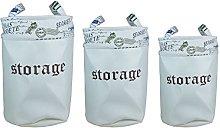ARPAN Laundry Basket Bin Storage Hamper Bags for