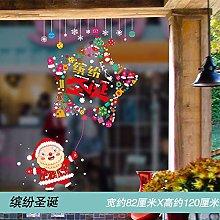 Arrange and Decorate Creative Glass Stickers