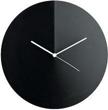 Arris Wall clock - Ø 30 cm by Alessi White,Black