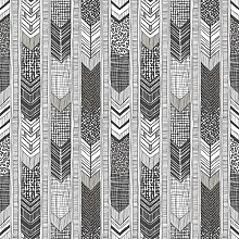 Arrow 10m x 53cm Matte Wallpaper Roll East Urban
